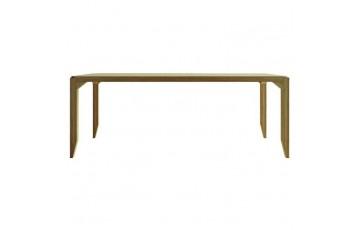 «Айсберг» (160 х 85 х 74 см) - лаконичный стол из массива бука