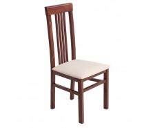 Елегантний дерев'яний стілець «Алла 01» з м'яким сидінням