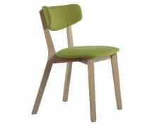 М'який сучасний стілець «Амі» з масиву бука
