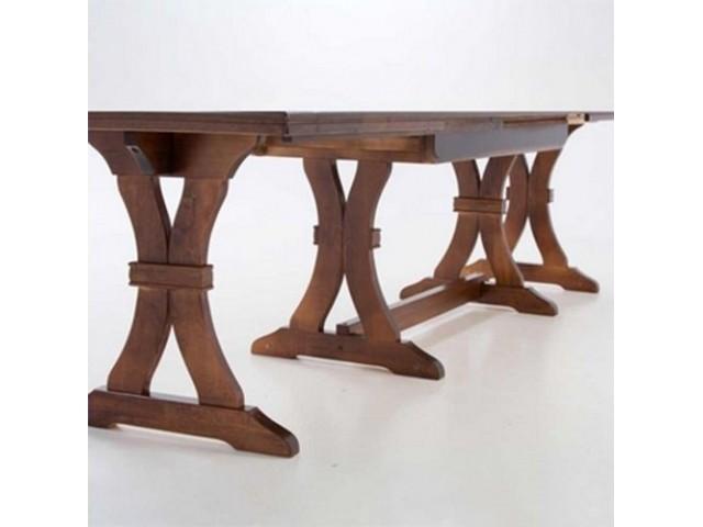 Розкладний стіл «Андра» (160(340)х85х74 см) — найбільший в колекції Tivoli