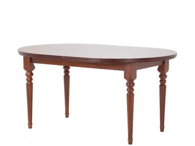Обідній стіл «Гірне 12» (160(200)×106 см) з масиву бука