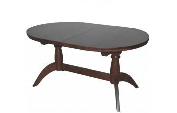 Раздвижной стол «Гирне 02» из массива бука (160 (240) × 106 × 74 см)