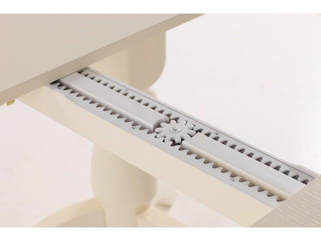 Розсувний стіл «Гірне 02» з масиву бука (160(240)×106×74 см)