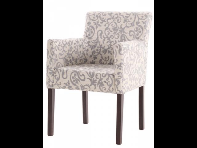 Зручний стілець-крісло «Квін» з підлокітниками