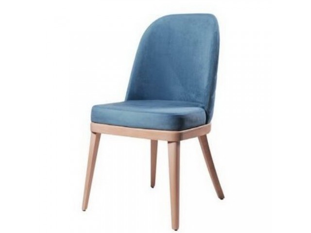 Зручний м'який стілець «Мадрид» з букового масиву