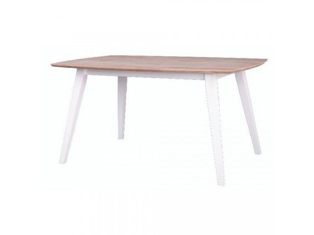 Обідній стіл «Міка» (140 х 90 см, 140+40 х 90 см) з масиву бука