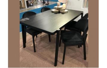 «Пиллар» (140 х 90 х 74 см) - оригинальный обеденный стол из массива бука