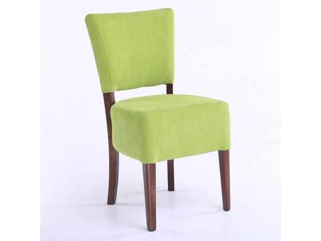 Стильний м'який стілець «Прага 03» з масиву бука