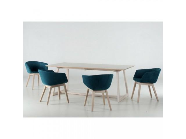 Обідній дерев'яний стілець «Сідней» з сучасним дизайном