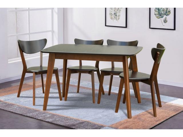 Модерн: розкладний дерев'яний обідній стіл