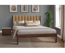 Каліфорнія — елегантне ліжко із дерева з високим узголів'ям