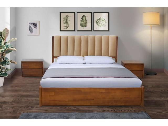 Каліфорнія: ліжко з під'ємною рамою і високим узголів'ям