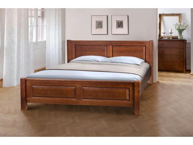 Ліжко дерев'яне двоспальне / полуторне  «Ланіта» (масив вільхи)