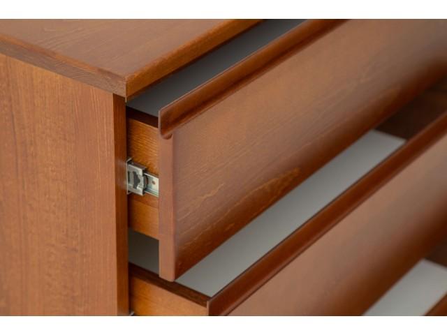 Техас — зручний дерев'яний комод з висувними ящиками