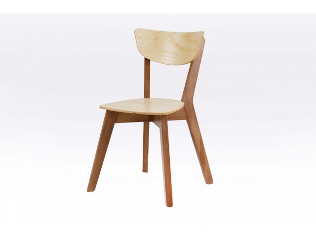 Рондо: розбірний дерев'яний стілець з масиву ясена