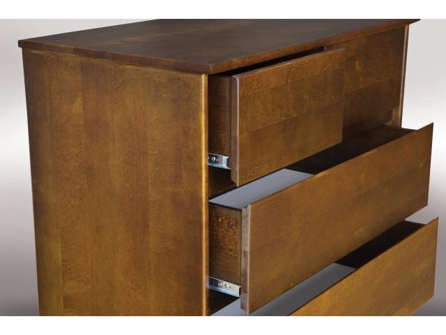 Комод дерев'яний Фенікс (вільха) 88*100*50 см