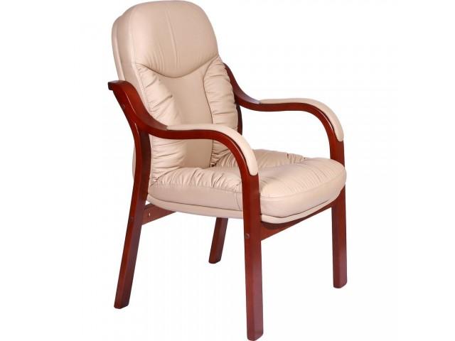 Кресло Буффало CF, кожа бежевая (6231-D BIEGE LEATHER+PVC)