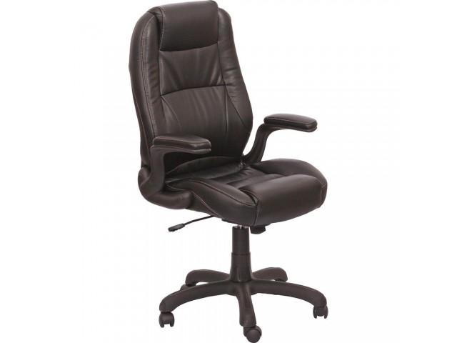 Кресло Мустанг НВ, кожзам черный (CS-611E PU06 BLACK)