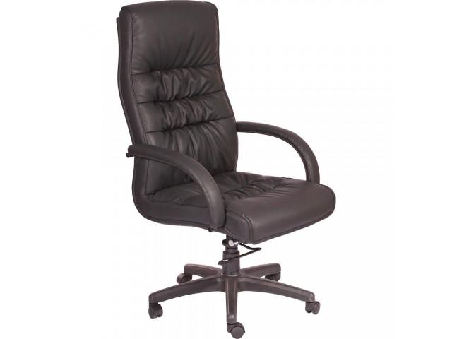 Кресло Орхидея НВ, кожзам черный (643-B HI-BACK BLACK PU+PVC HL014 MECH)