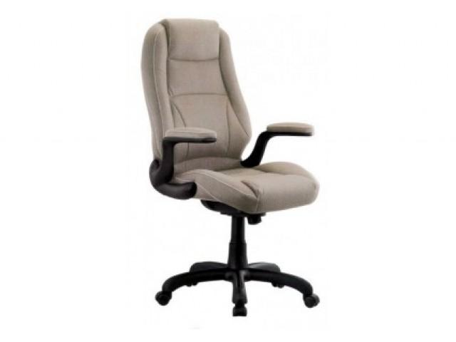 Кресло Мустанг НВ, кожзам бежевый (CS-611E PU19 BIEGE)