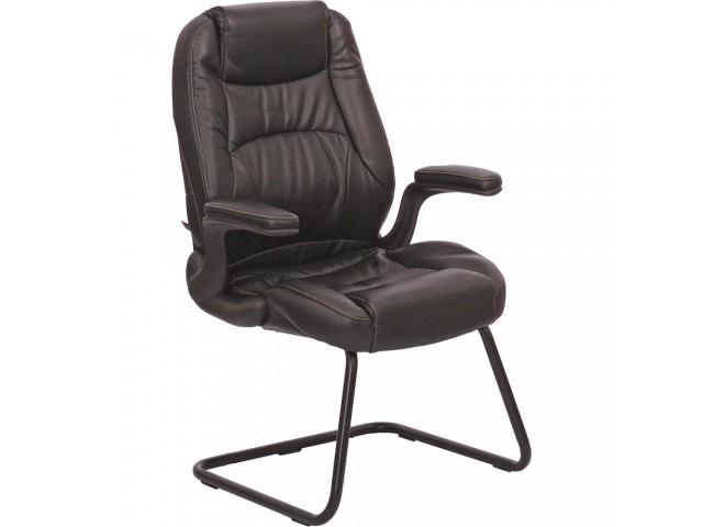 Кресло Мустанг CF, кожзам черный (CS-611P PU06 BLACK)