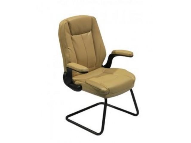 Кресло Мустанг CF, кожзам бежевый (CS-611P PU19 BIEGE)