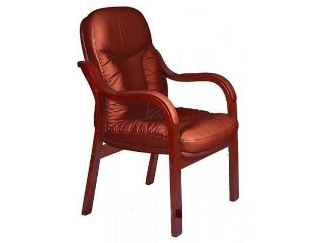 Кресло Буффало CF, кожа коричневая (6231-D BROWN LEATHER+PVC)