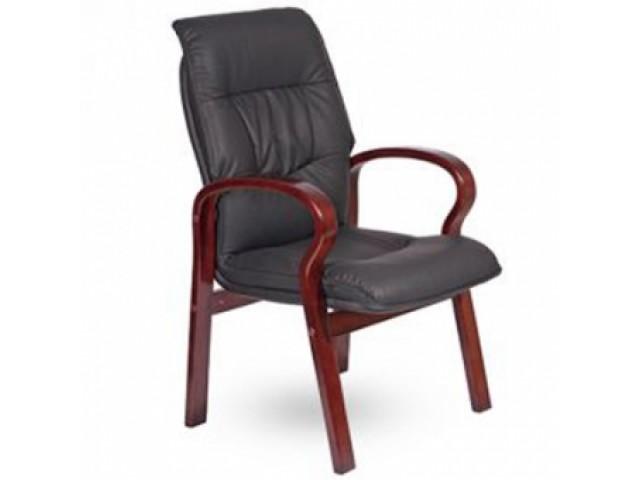 Кресло Лондон CF, кожзам черный (625-D BLACK PU+PVC)