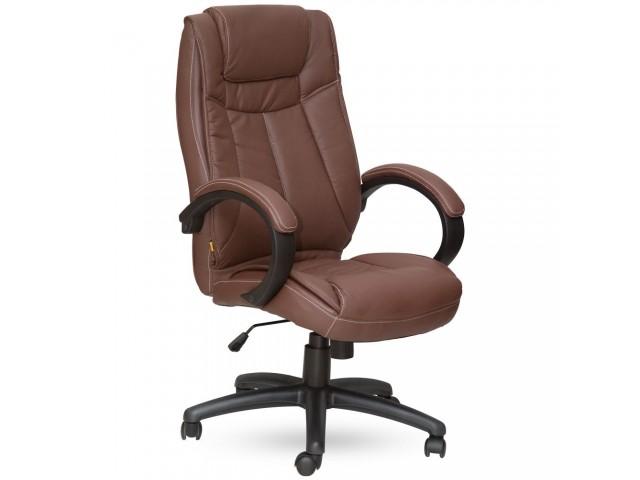 Кресло Орлеан HB кожзам коричневый (Model-179 Pu+Pvc Brown)