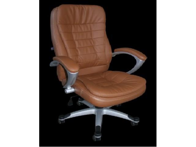 Кресло Вариус HB кожзам коричневый (J-9031 PU Brown)