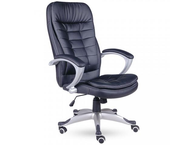 Кресло Вариус HB кожзам черный (J-9031 PU Black)