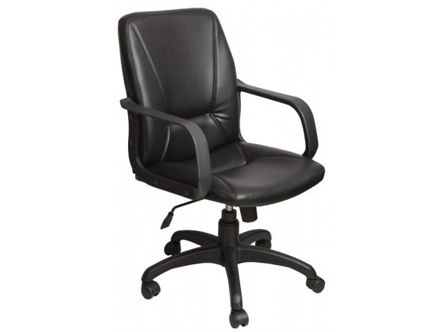 Кресло Лига Пластик Скаден черный