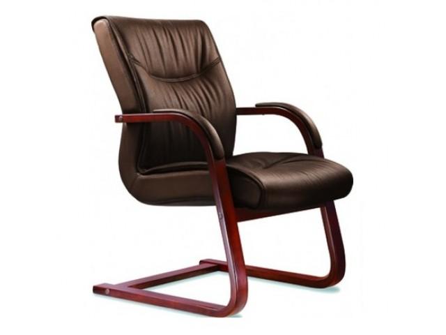 Кресло Монтана CF, кожа коричневая (619-D+PVC)