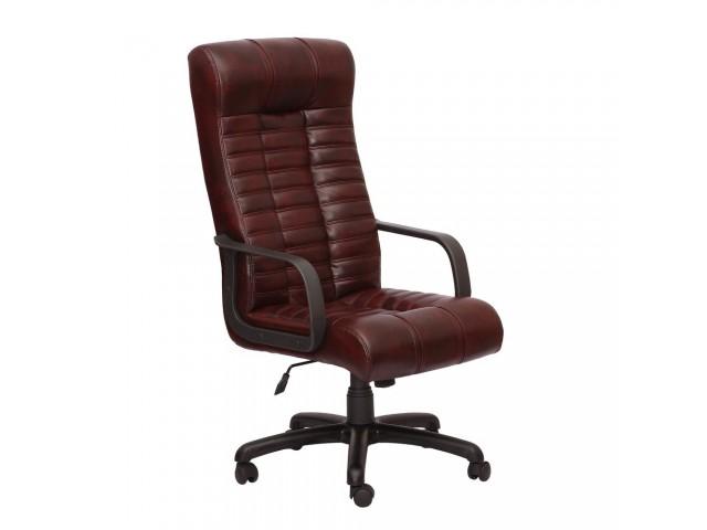 Кресло Атлантис Пластик Кожа Люкс двухсторонняя коричневая