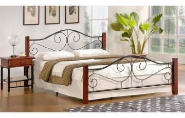 Ліжко двоспальне металевий каркас Halmar VIOLETTA