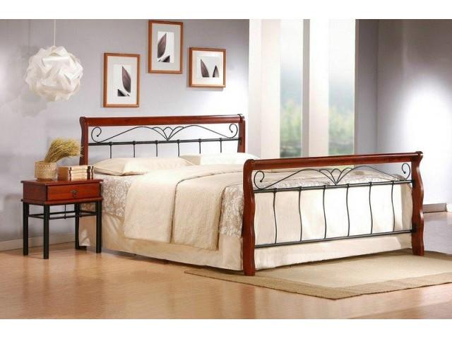 Ліжко одно-двоспальне металевий каркас Halmar VERONIСA