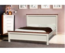 Ліжко дерев'яне двоспальне Беатріс (Сосна)