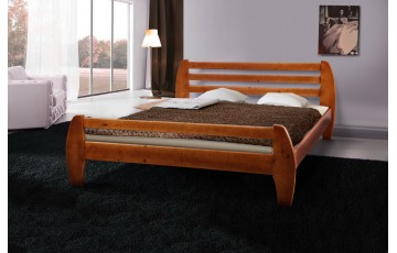 Кровать деревянная двуспальная Galaxy (Сосна)