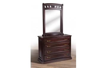 Зеркало деревянное Флоренция (дуб массив) 1600х2200х600мм