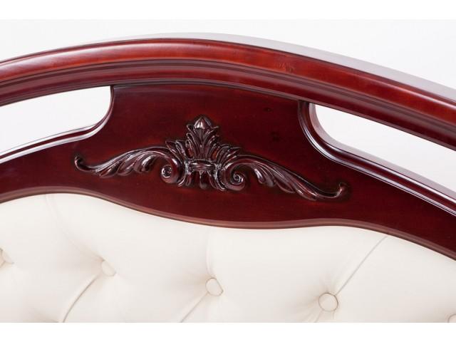 Ліжко дерев'яне двоспальне Маргарита (Вільха), 160/180*200 см