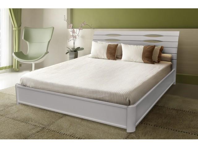 Ліжко дерев'яне Марія (Бук)  (в асортименті)