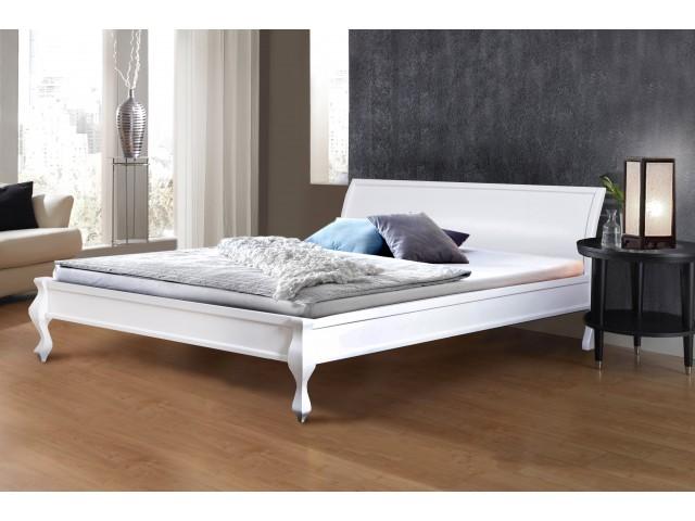 Ліжко дерев'яне двоспальне Ніколь (Сосна) 160х200см, узголів'я 82 см