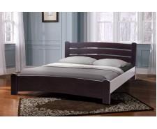 Кровать деревянная двуспальная София (ольха) 160х200 см, изголовье 82 см