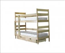 Ліжко дерев'яне двоярусне Дісней