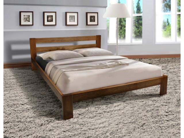 Ліжко двоспальне дерев'яне Стар 160х200 (Масив дерева)
