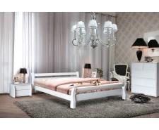 Кровать деревянная двуспальная Монреаль (Ясень), 160х200 см, изголовье 70 см