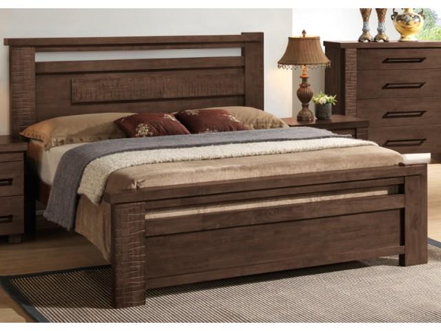 """Ліжко двоспальне дерев'яне Domini """"Європа"""""""