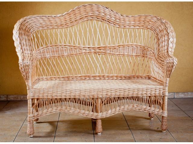 Диван плетений з лози Комфорт (Розвернутий)