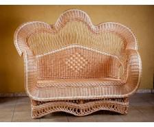 Диван плетений з лози Королівський