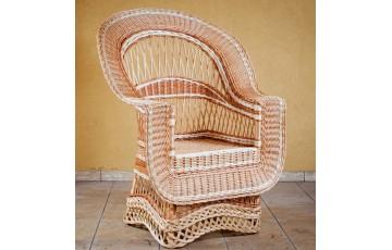 Крісло плетене з лози Елітне